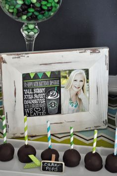 Starbucks Birthday Party Ideas | Photo 1 of 10 | Catch My Party