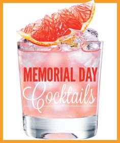 15 Fun, Easy Cocktails To Mix This Memorial Day Weekend (pinned via refinery29s pin it button)