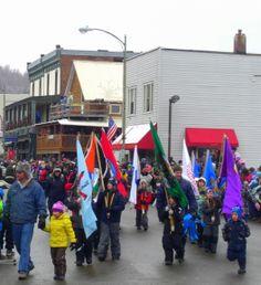 Winter Carnival, feb 2012.