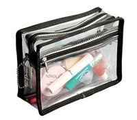 7.95 - Transparent Clear Makeup Bag