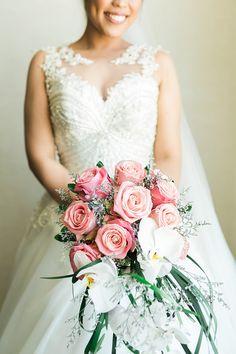 Rose Bridal Bouquet | Photo: GJ Esguerra