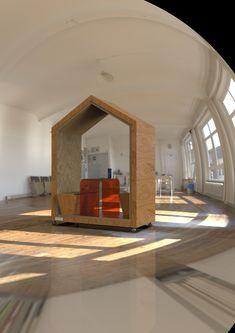 Универсальное рабочее место для openspace. Архетип дома дополняет акустический эффект личного пространства. Photo And Video, Mirror, Furniture, Instagram, Home Decor, Decoration Home, Room Decor, Mirrors, Home Furnishings