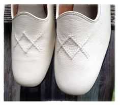 Vintage Like New Connie Shoes White Leather by Entropytheshop