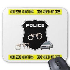 Crime Scene Mouse Mat