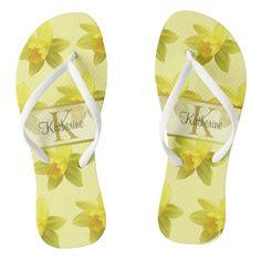 #ad #sprinflowers #customizable Floral Flip Flops, Monogram, Pairs, Sandals, Style, Swag, Shoes Sandals, Monograms, Sandal