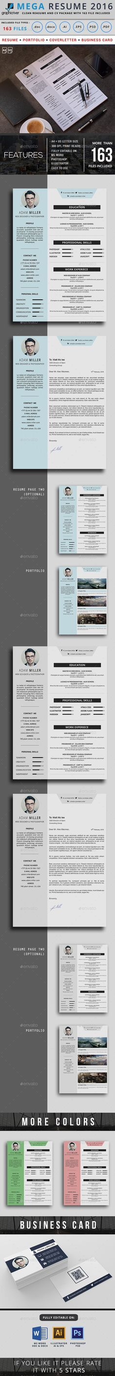 #Resume - Resumes Stationery Download here: https://graphicriver.net/item/resume/15672296?ref=alena994