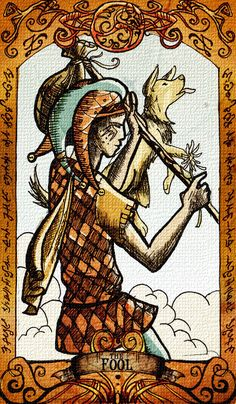 0 - the fool  freedom / unsettled / inexperience
