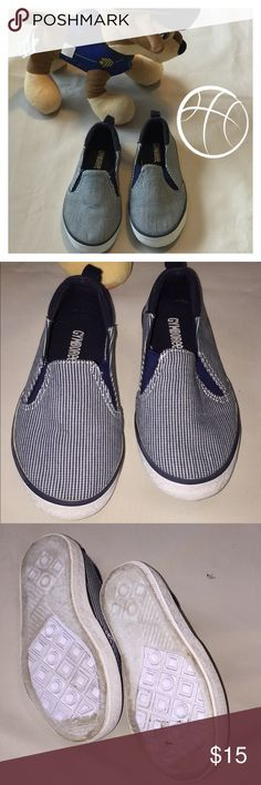 EUC Toddlers Gymboree Slip on Sneakers Excellent pre-owned Condition. Toddler Boys. Gymboree Shoes Sneakers