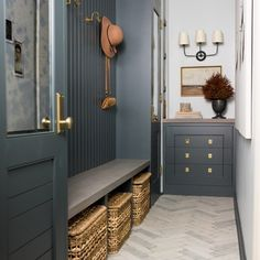 Whittney Parkinson Design is a full service interior design firm. Whittney specializes in commercial design, luxury construction projects and interior furnishing details. Mudroom Laundry Room, Mudroom Cabinets, My New Room, Inspired Homes, Interior Inspiration, Daily Inspiration, Color Inspiration, Interior And Exterior, Beautiful Homes