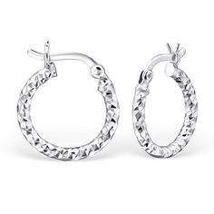 925 Sterling Silver 15mm French Lock Hoop Earrings 23907 *** Read more @ http://www.amazon.com/gp/product/B01CGUS86O/?tag=splendidjewelry07-20&ptu=140716182252