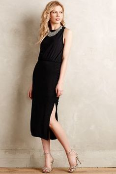 Adelyn Rae Nighttide Midi Dress #anthrofave
