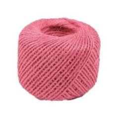 100m Cotton Bakers Twine String Cord Glass Bottle Gift Box Decor Craft Pink