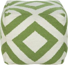 Grace your home with green this spring for a refreshing, fashion forward color. (POUF-218)
