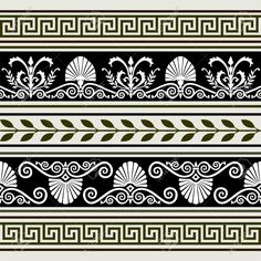 5053914-Set-of-antique-borders-Stock-Vector-greek-pattern-greece.jpg 1.300×1.300 piksel