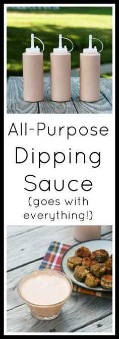 The best all-purpose dipping sauce - goes great on pretty much anything! Click through for simple recipe. The best all-purpose dipping sauce - goes great on pretty much anything! Click through for simple recipe. Ketchup, Sauce Recipes, Cooking Recipes, Dip Recipes, Quick Recipes, Recipies, Comeback Sauce, Appetizer Recipes, Appetizers