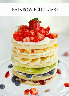 Rainbow Delight {Ten Rainbow Inspired Desserts}