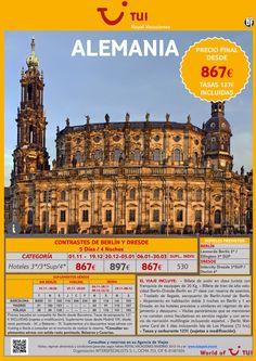 ALEMANIA: Circuito contrastes de Berlín y Dresde. Precio final desde 867€ - http://zocotours.com/alemania-circuito-contrastes-de-berlin-y-dresde-precio-final-desde-867e-2/