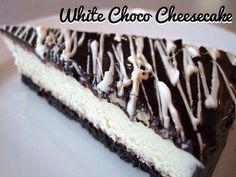 White Choco Cheesecake