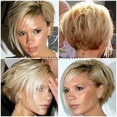 Victoria Beckham wth bob hairstyle