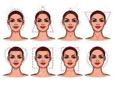 708b70c5d0 Las 48 mejores imágenes de Tipos de rostro en 2017 | Beauty makeup ...