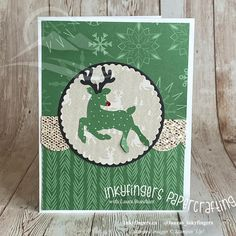 Painted Christmas Cards, Christmas Cards To Make, Christmas Deer, Specialty Paper, Christmas Tablescapes, Stampin Up Cards, I Card, Card Making, Paper Crafts