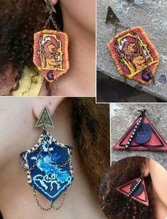 Brincos Harry Potter