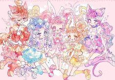 Anime picture precure kirakira precure a la mode idol memories toei animation usami ichika kenjou akira 528319 en Cute Animal Drawings Kawaii, Kawaii Drawings, Kawaii Art, Cute Drawings, Kawaii Anime, Pretty Cure, Pretty And Cute, Tokyo Mew Mew, Glitter Force