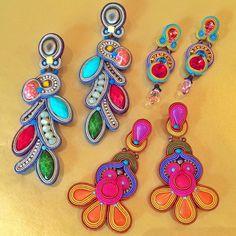 Wonderful selection of Dori's earrings by #charmandchin #earrings #summer2015…