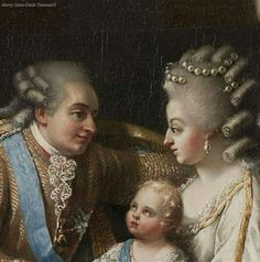 Louis XVI, Marie Antoinette and their first son, Louis Joseph. image: (C) Château de Versailles, Dist. Louis Xvi, Marie Antoinette, Adele, Sophia Coppola, It's All Happening, French Royalty, Maria Theresa, French History, Royals