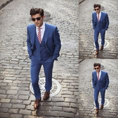 J Lindbergh Spring Summer 2013 :: Blue Suit