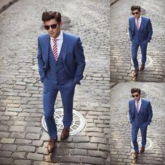 J Lindbergh Spring Summer 2013 :: Blue Suit