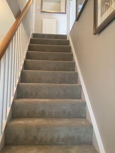 Carpet Runners Cut To Length Referral: 7353519157 Hallway Carpet, Carpet Stairs, Wool Carpet, Grey Carpet, Flooring Near Me, Flur Design, Living Room Carpet, Carpet Runner, My House