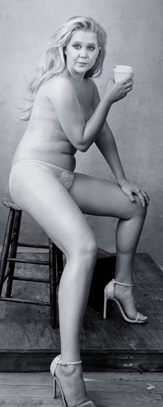 Amy Schumer's Response to Her Nude Pirelli Calendar Shoot Is Yet Another Reason We Love Her