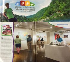 RAM is featured in the Attractions section of Western AR Mountain Frontier Magazine.