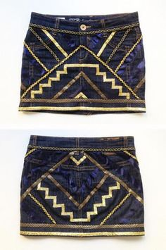 Mini falda étnica | anna • evers - DIY Fashion blog