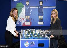 #ElisabettaPellini Elisabetta Pellini: ⚽️ #CasaAzzurri #Biliardino #CalcioBalilla #Italia | Pic @claudiovillaphotographer @gettyimages