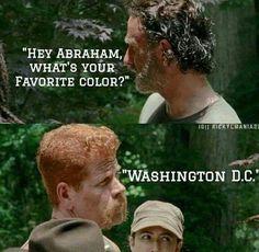 Rick.....Abraham....Washington D.C.