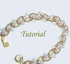 Beading Tutorial  Beaded Pearl Bliss Bracelet by Splendere on Etsy, $4.00