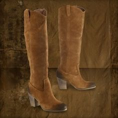 Denim & Supply by Ralph Lauren Mazie Oiled Suede High Boot