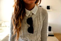 I've got a similar jumper, just in need of a white shirt. think i'll add silver collar tips too...
