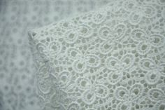 White Intricacy - Lace - Tessuti Fabrics - Online Fabric Store - Cotton, Linen, Silk, Bridal & more