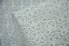 White Intricacy - Lace - Tessuti Fabrics - Online Fabric Store - Cotton, Linen, Silk, Bridal & more