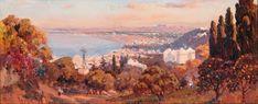 Peinture Algérie - La Baie d'Alger von Maxime Noiré