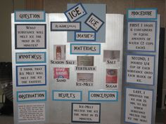 Ice Science Fair Project
