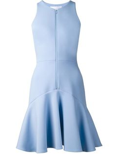 Cushnie Et Ochs zip front in pale blue