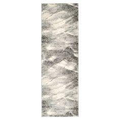 Gray/Ivory Solid Loomed Area Rug 2'3X8' - Safavieh