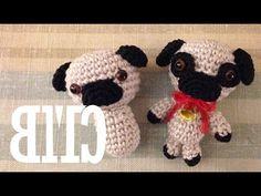 Amigurumi   Como hacer un Perro Pug en Crochet   Bibiana Mejia Crochet 2016