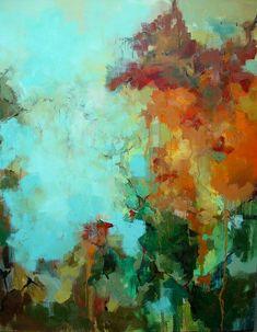 Julie Jilek-Oil painting                                                                                                                                                     More #abstractart