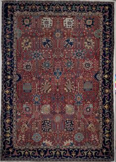 Kerman 'vase' carpet once owned by William Henry Wrench, Safavid Iran, 17th century, V&A