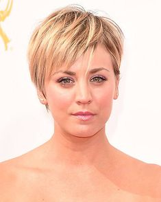 10 times Kaley Cuoco showed us how to style short hair - Photo 10
